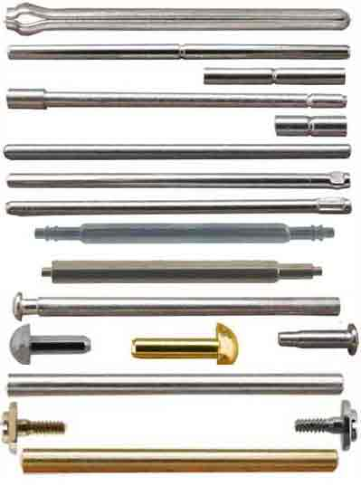 Bars Pins and Tubes
