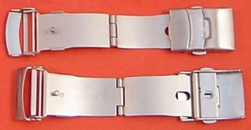 Watch 3 Fold Safety,20mm SS Clasps