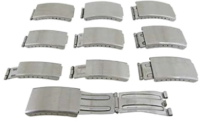 Set of 9 (10 to 20mm) SS Clasps
