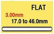 3.00mm Round Flat Glass 39.0mm