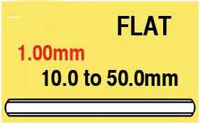 1.00mm Round Flat Glass 41.7mm
