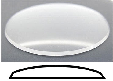 Mineral Glass With Bevelled Edge 38.8mm