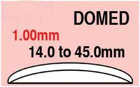 Round Domed Glass 14.2mm