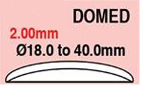 Round Domed Glass 18.0mm