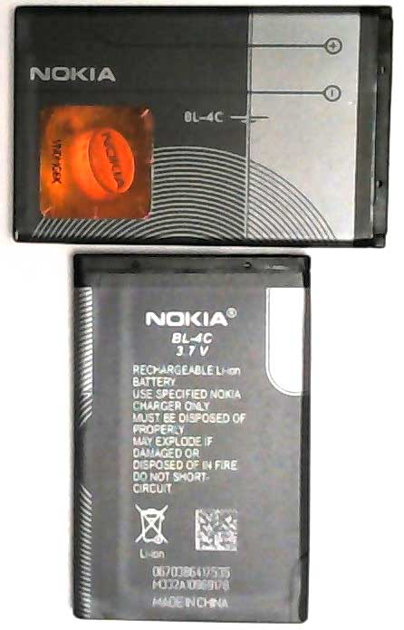 BL-4C Nokia Replacement Mobile Phone Battery