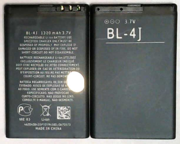 BL-4J, Nokia Replacement Mobile Phone Battery.