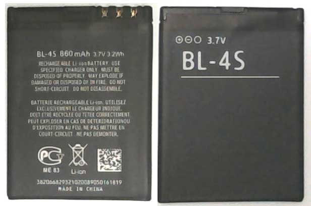 BL-4S Nokia Replacement Mobile Phone Battery