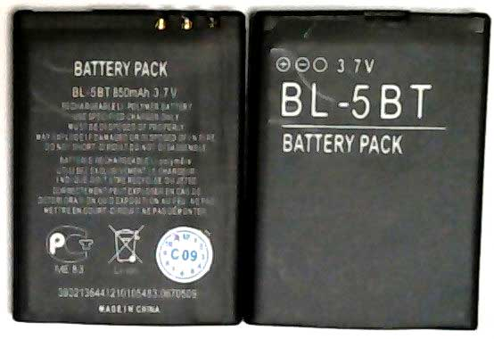 BL-5BT Nokia Replacement Mobile Phone Battery.