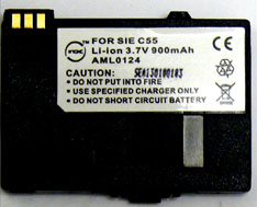 EBA_510 Siemens Replacement Mobile Phone Battery