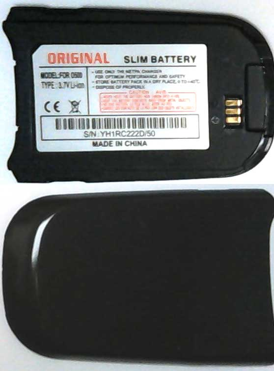 D500 Samsung Replacement Black Mobile Phone Battery,