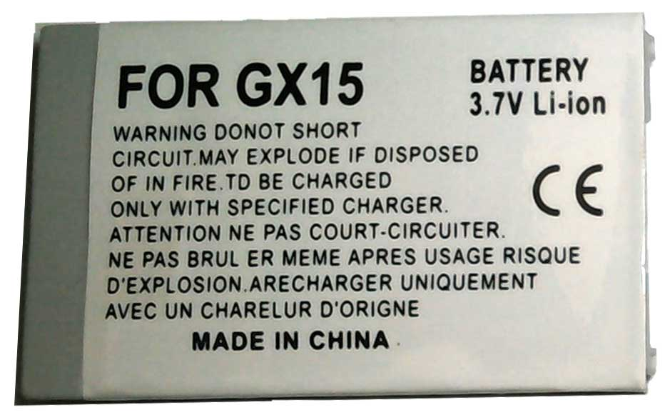 GX15 Sharp Replacement Mobile Phone Battery