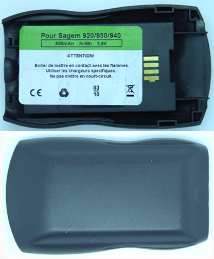 MC920 Sagem Replacement Mobile Phone Battery