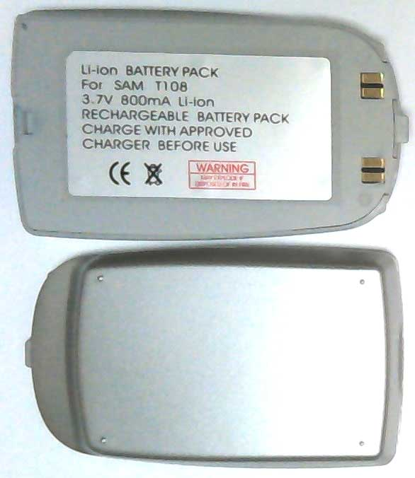 T100 Samsung Replacement Silver Mobile Phone Battery