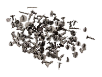 100 Assortment of Stainless Steel