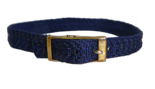 8mm Multi Coloured Dark Blue Watch strap.