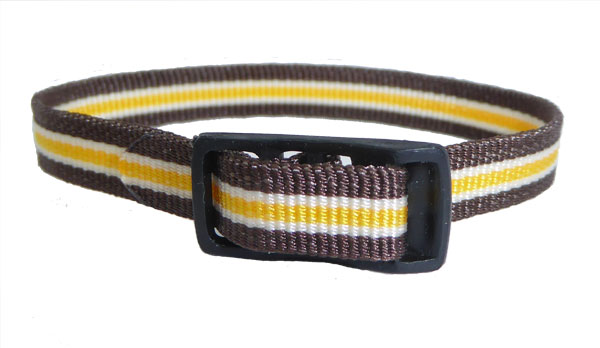 8mm Multi Coloured Brown White Gold Watch strap.