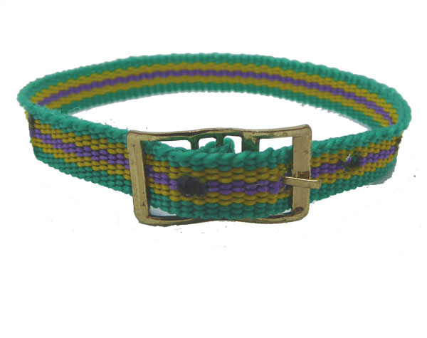 8mm Multi Coloured Green Yellow Blue 8mm Watch strap.