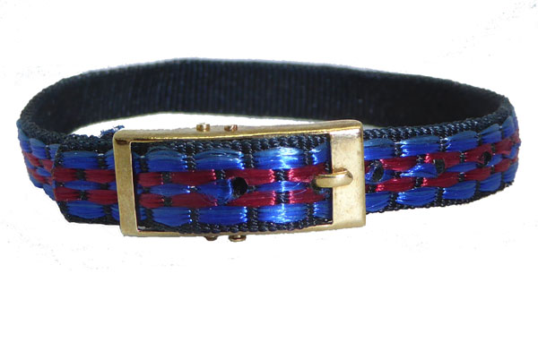 8mm Multi Coloured Blue Red Watch strap.