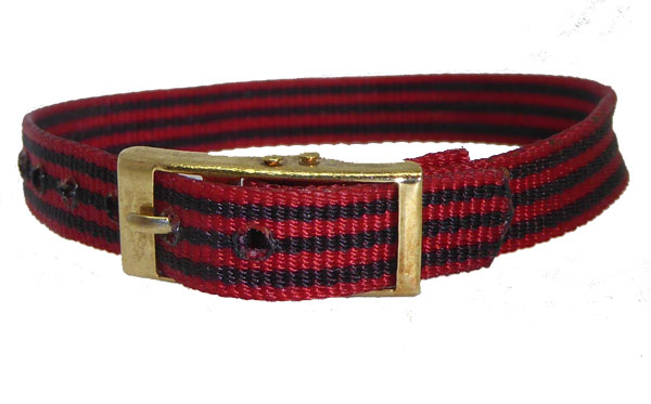 8mm Red Green Multi Coloured Watch strap.