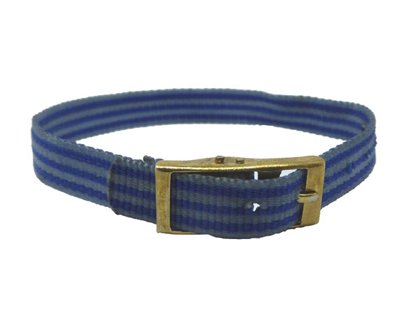 8mm Multi Coloured White Blue Watch strap.