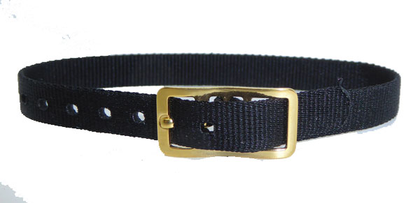 8mm Nylon Strap Black Gilt