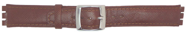 Tan Leather Notched Integral fitting