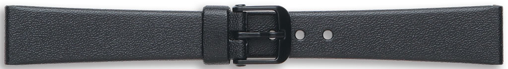 Black Casio Watch Straps, End Size 20mm.