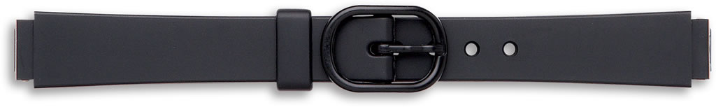 Black Casio Watch Straps..End Size 10mm.