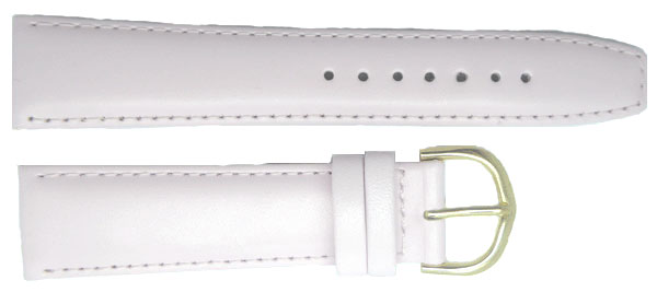 Paste Pink Calf Leather Gilt 6mm