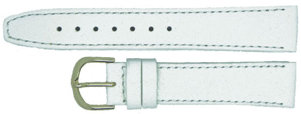 White Calf Leather Gilt 6mm