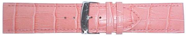 Pink Wide Leather Straps 26mm