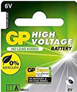 11A High Voltage 6V High Voltage Alkaline Batteries