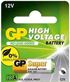 23AE High Voltage 12V High Voltage Alkaline Batteries