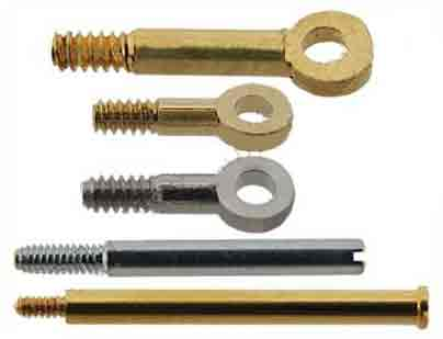 SCREWS FOR WATCH BRACELETS