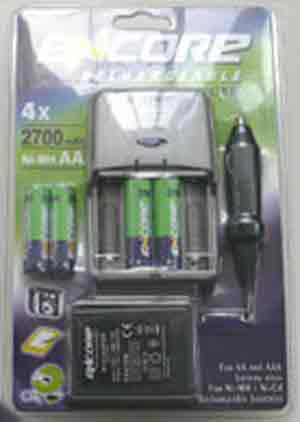 Encore Rechargeable Fast Charger