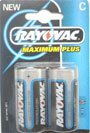 C Size / LR14 Rayovac Maximum Plus