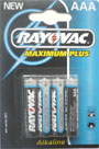AAA / LR3 Rayovac Maximum Plus